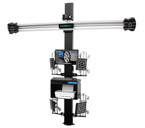 Geoliner 630 Kompiuterinis 3D ratų suvedimo stendas Hofmann