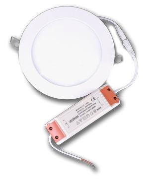LED panelės - įleidžiamos.