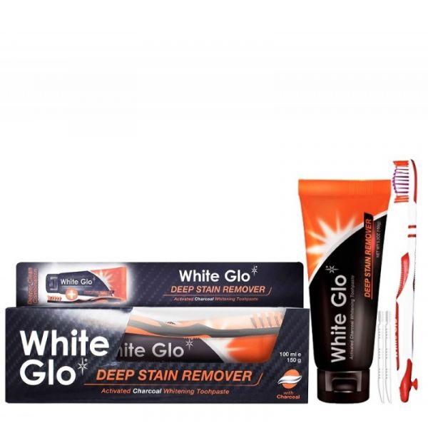 WHITE GLO balinamosios dantų pastos