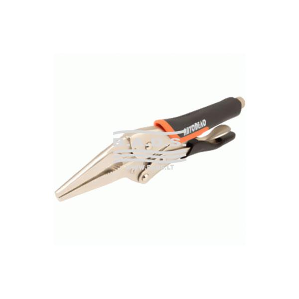 Įrankiai - Replės specialios paskirties - Replės užspaudimui smailios 210mm (AutoDelo)