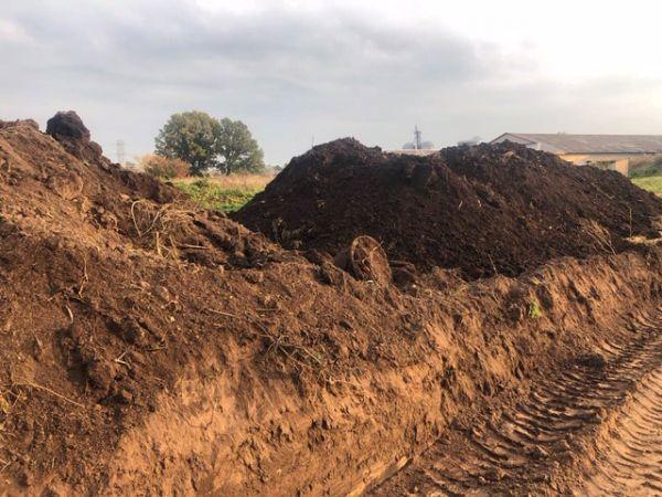 Kompostuotas mėšlas