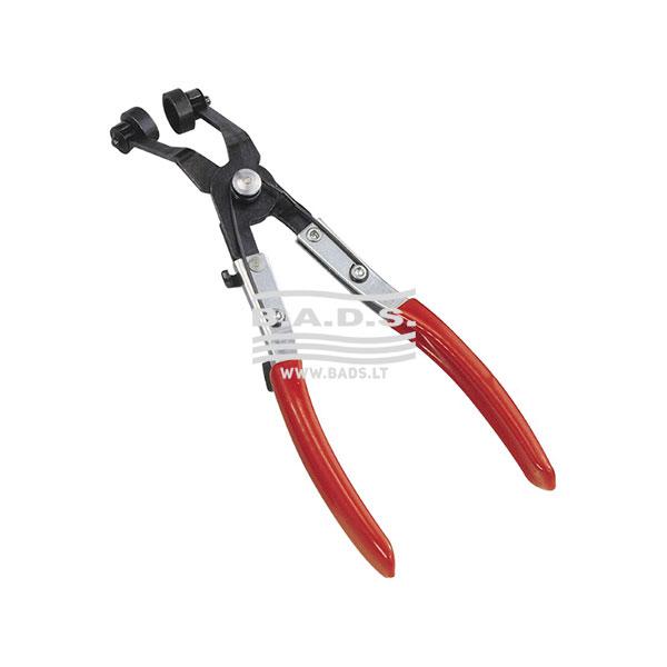 Įrankiai - Replės specialios paskirties - Replės žarnų žiedams nuspausti, lenktos AT-HC16