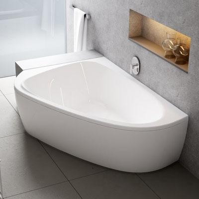 Akmens masės, akrilo vonios