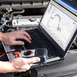 Autodujų įrangos diagnostika