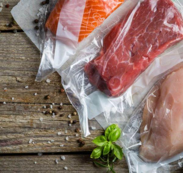 Vakuuminė Termoforminė plėvelė mėsos, pieno, žuvies pramonei