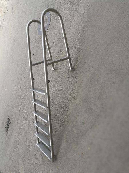 metalinės kopėčios