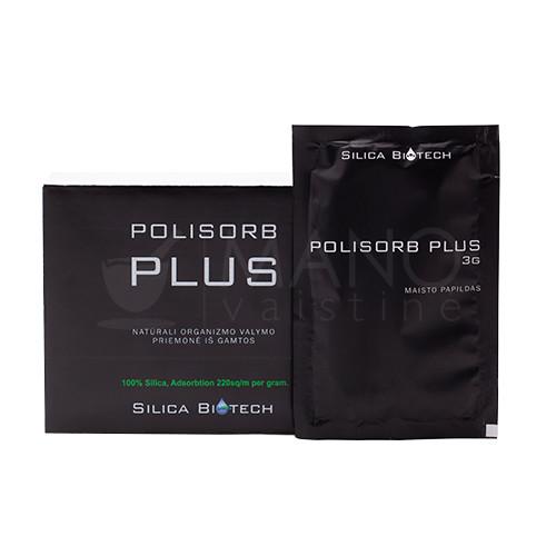 Polisorb Plus enterosorbentas 3g milteliai N1