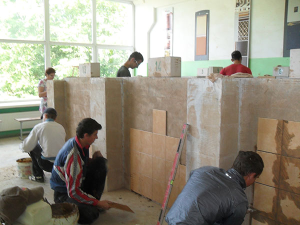 Apdailininko (statybininko) modulinė profesinio mokymo programa (po 10 kl.)