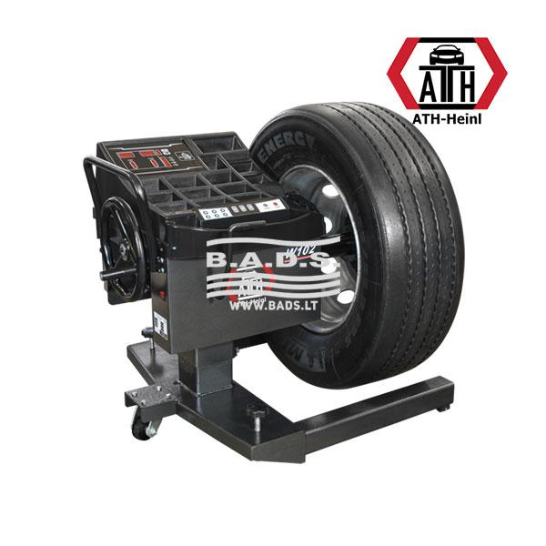 Mobilios ratų balansavimo staklės lengviesiems automobiliams ir sunkvežimiams ATH W102
