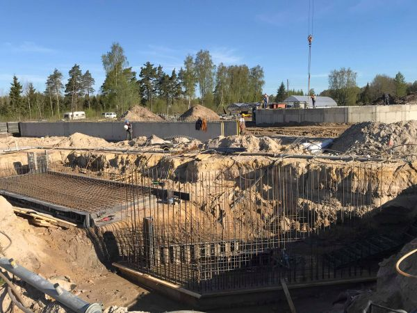 Specialios paskirties statinių statybos darbai