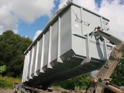 Roll-On metaliniai konteineriai