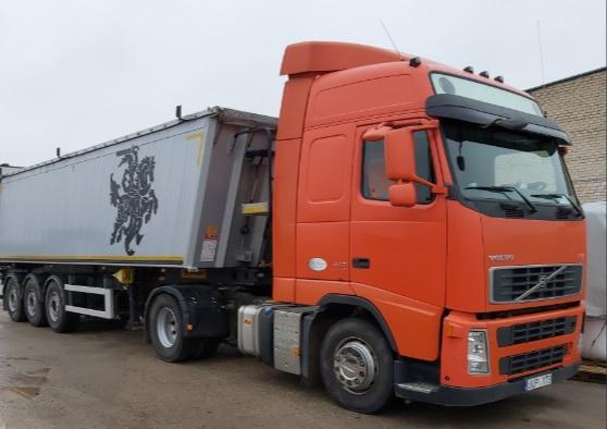 Krovinių pervežimai Lietuvoje ir Baltijos šalyse