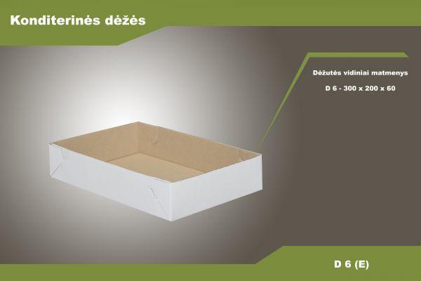 Pyragaičių dėžė - D6 (E)