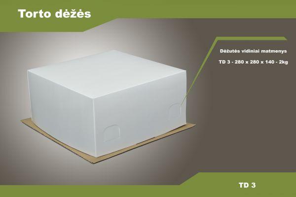 Torto dėžė TD3