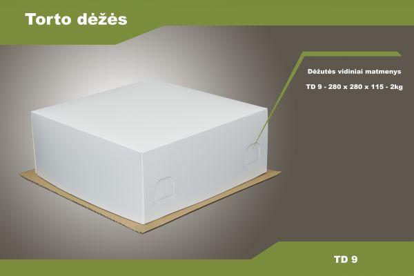Torto dėžė TD9