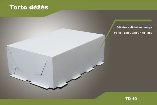 Torto dėžės TD 10/TD 11/TD 12