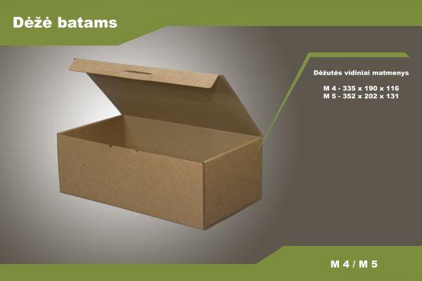 Batų dėžės M4 / M5