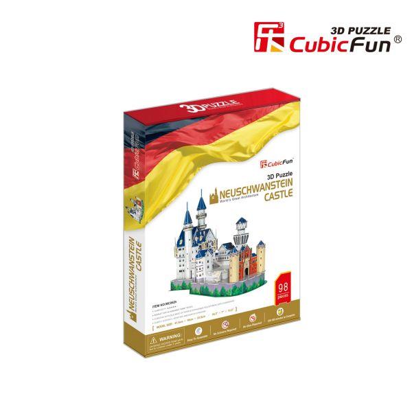 """MC062h CubicFun 3D dėlionė """"Noišvanšteino pilis"""""""