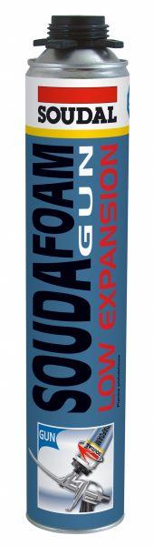 SOUDAFOAM GUN Low Expansion (B2) (ypatingai mažo plėtimosi montažinės putos, poliuretano pagrindu)
