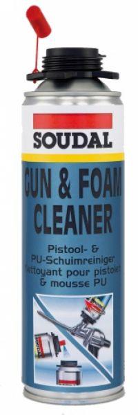 GUN & FOAM CLEANER (nesukietėjusių putų, klijų, hermetiko valiklis)