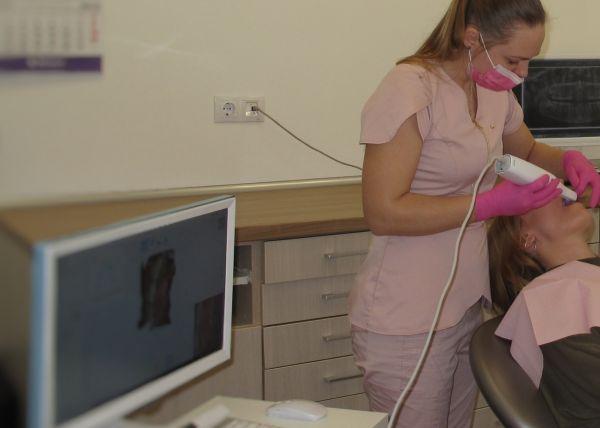 Protezavimas su intraoraliniu skeneriu