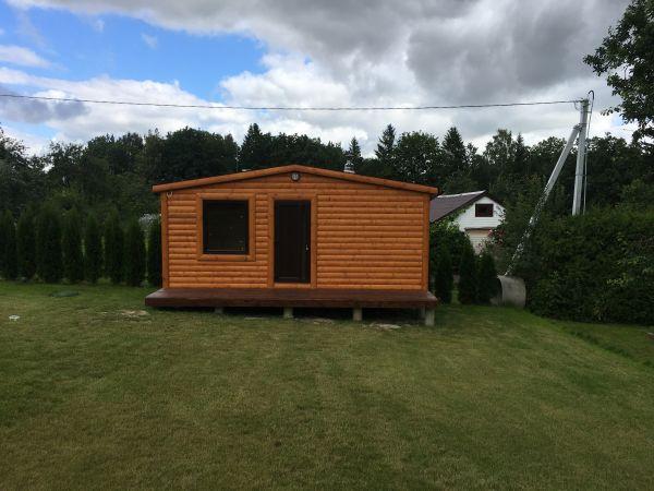 Pirtis sauna su mini tersa 1,25x6