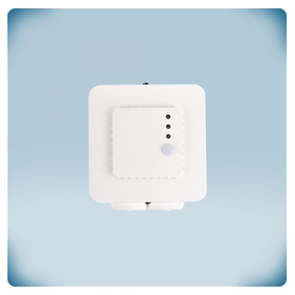 Pokojowy czujnik temperatury i wilgotności, zasilanie 230 VAC