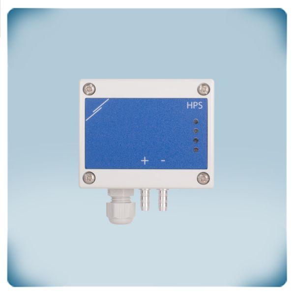 Przetwornik różnicy ciśnień, -125 do +125 Pa, zasilanie AC/DC