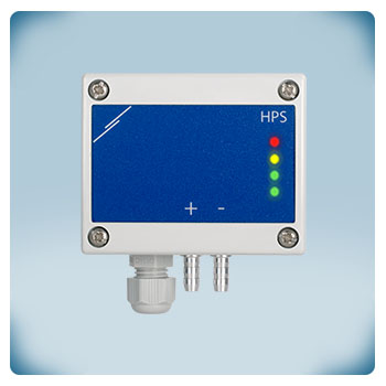 Regulator, przetwornik różnicy ciśnień, -125 do +125 Pa, zasilanie AC/DC