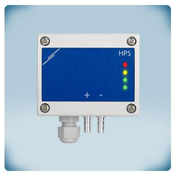 Regulator, przetwornik różnicy ciśnień, 0-2000 Pa, zasilanie AC/DC