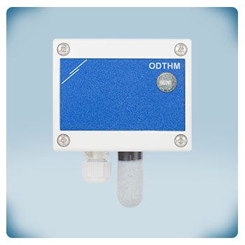 Датчик температуры и влажности, питание через Modbus RTU