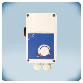 Регулятор скорости вращения вентилятора (электронный) с дистанционным пуска / стоп