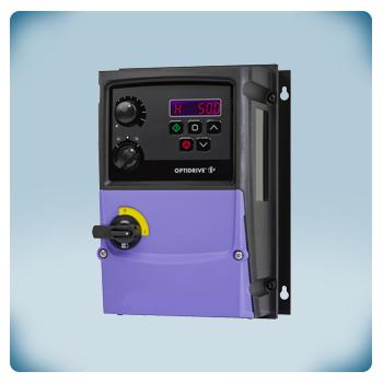Przemiennik częstotliwości (falownik) z zintegrowanym potencjometrem i przełącznikiem REV/OFF/FW