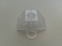 Trapecinė kaladėlė (skaidri, profiliui 76/18; 70/18)
