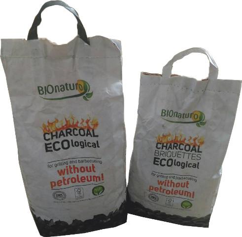 Ekologiškos anglys ir briketai BIONATURO