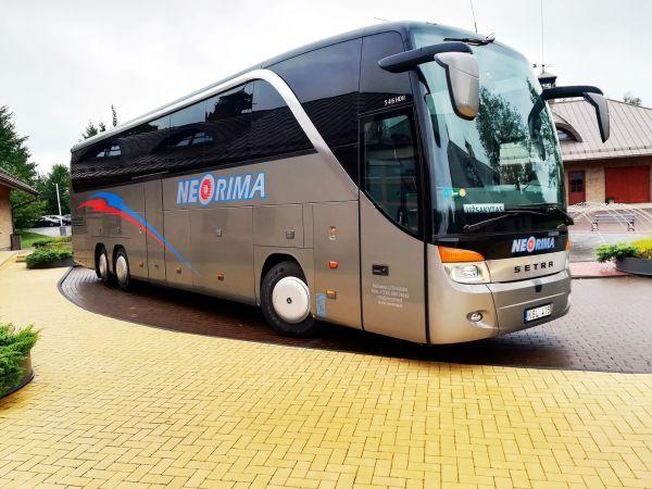 Turistinių autobusų nuoma kelionėms