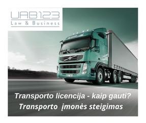 Transporto licencija