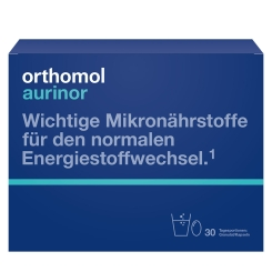 Orthomol Aurinor - normalizuoja svorį, gerina medžiagų apykaitą ir našumą.