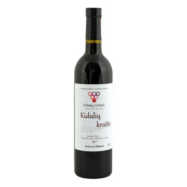 Vyšnių vynas (sausas)