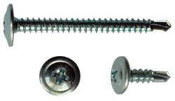 Savigręžiai į metalą (LYG) cinkuoti su grąžteliu