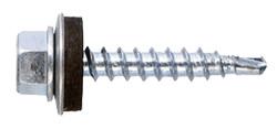 Stoginiai savigręžiai į metalą cinkuoti, su EPDM tarpine