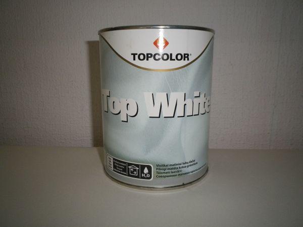 Lubų dažai Top white