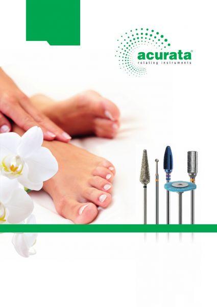 Acurata rotaciniai instrumentai nagų ir kojų priežiūrai