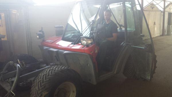 Žemės ūkio technikos traukių restauravimas