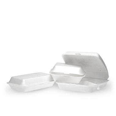 EPS (putinto polistireno) dėžutės ir padėkliukai