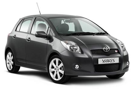 Toyota Yaris automobilio nuoma