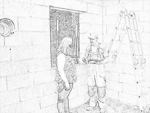 Montavimo, priežiūros, apžiūros darbai