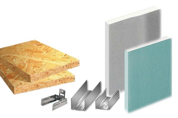 Sienos, lubos, grindys