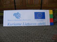 ES viešinimo stendai