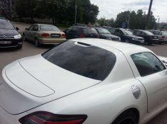 Automobilių stiklų tamsnimas